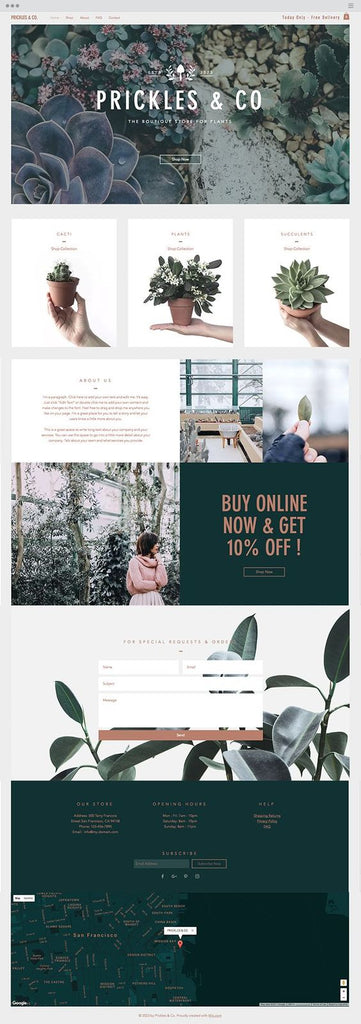 plant-website-design