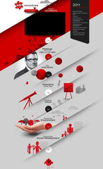 red-website-design