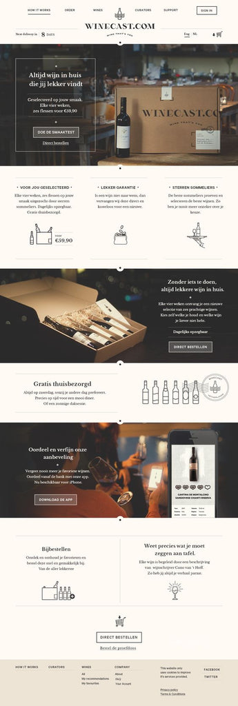 winery-website-design