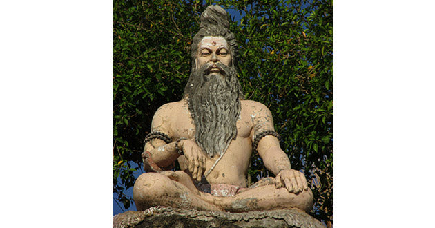 Bhogarnath, the great Indian yogi, circa 500 BCE