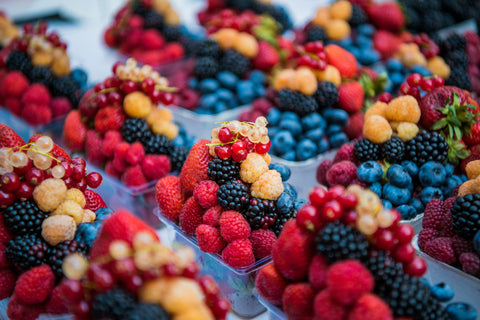 Berries are a great source of fiber, which can help with constipation.