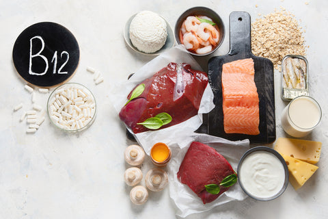 Animal foods are the best sources of vitamin B12.