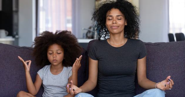 Meditation and mindfulness can lower cortisol and chronic stress