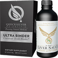 Ultra Binder and Dr. Shade's Liver Sauce by Quicksilver Scientific