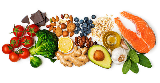 The best way to lower your cholesterol is by choosing foods high in fiber, omega-3 fatty acids, and plant phenols.