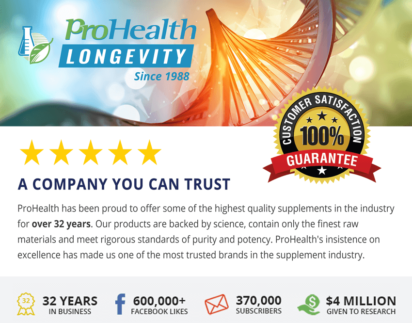 ProHealth - A company you can trust