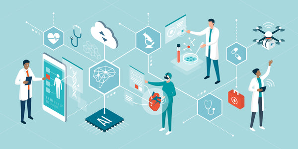 state-of-the-art deep learning models in biology, chemistry, and medicine could potentially disrupt the healthcare and pharmaceutical industries.