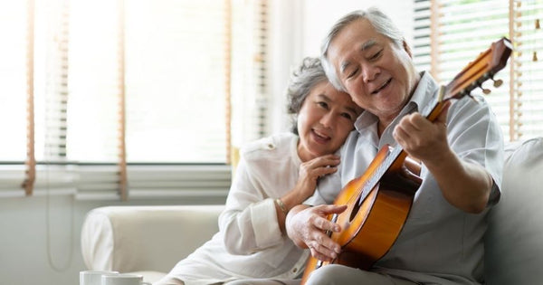 learning a new skill, like playing an instrument, or listening to your favorite music can enhance memory