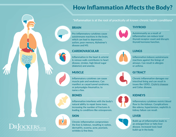 how chronic inflammation affects the body