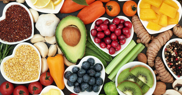 Healthy hearts thrive on healthy, nutritious food.