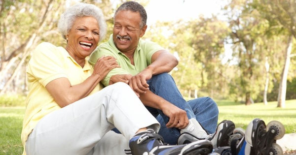 NMN is linked to healthier aging; older adults rollerblading