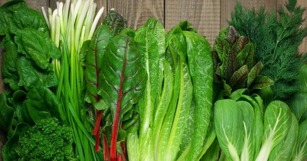 leafy green vegetables are extremely anti-inflammatory