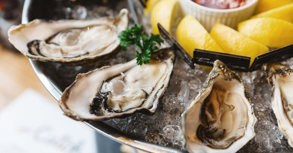 oysters contain high levels of zinc and vitamin D, which promote testosterone production