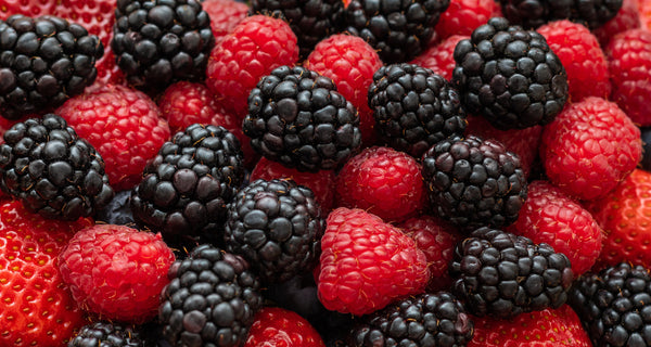 Blackerries and raspberries contain urolithin A, a compound that may help rejuvenate aging muscles.