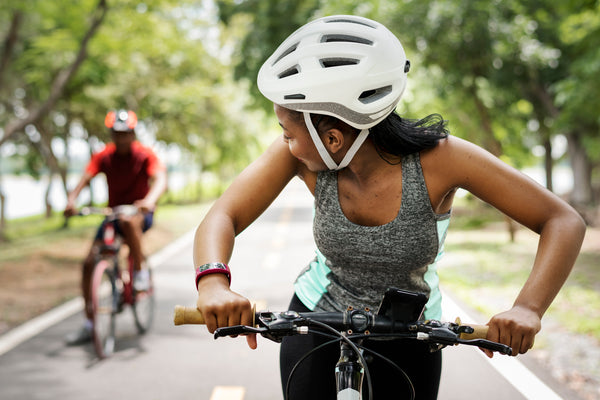 riding a bike or other moderate exercise may be enough to lengthen lifespan