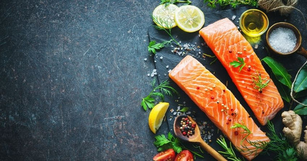 Fatty fish, like salmon, may raise testosterone levels due to their omega-3 fat and vitamin D levels.