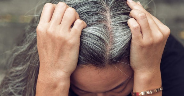 Age-related greying is thought to involve the exhaustion of stem cells that generate these hair-coloring melanocytes.