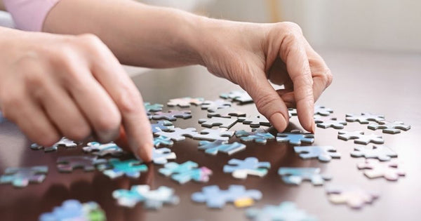 games like puzzles and brain training games can enhance memory and learning