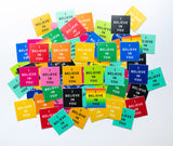 "2x2"" durable everyday stickers"