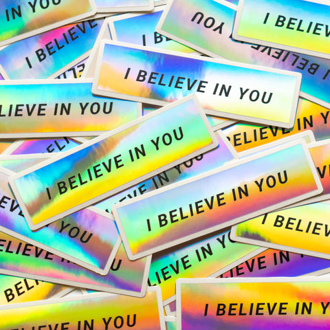 "4X1"" HOLOGRAPHIC STICKERS"
