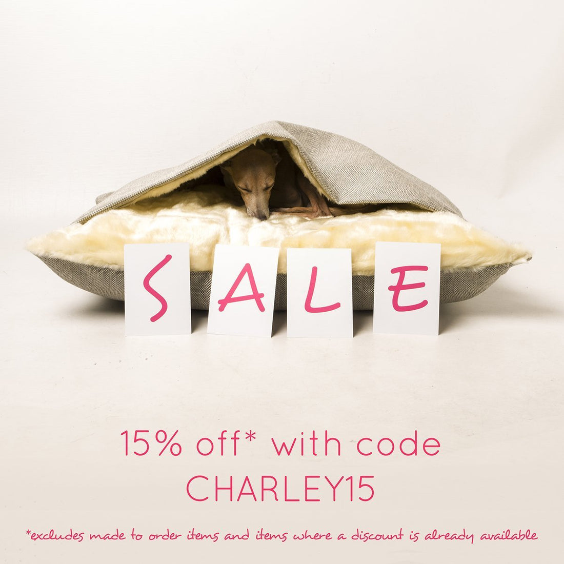 Our summer sale is now on with a fab 15% off!