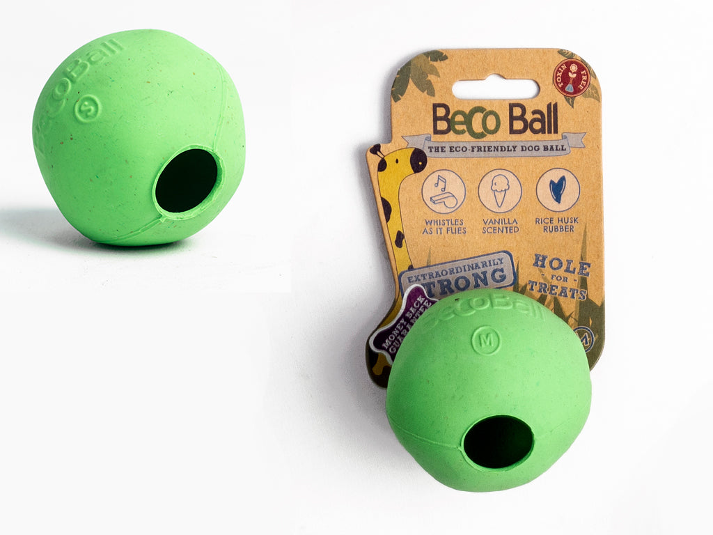 Beco Pet Natural Rubber Treat Ball for Dogs