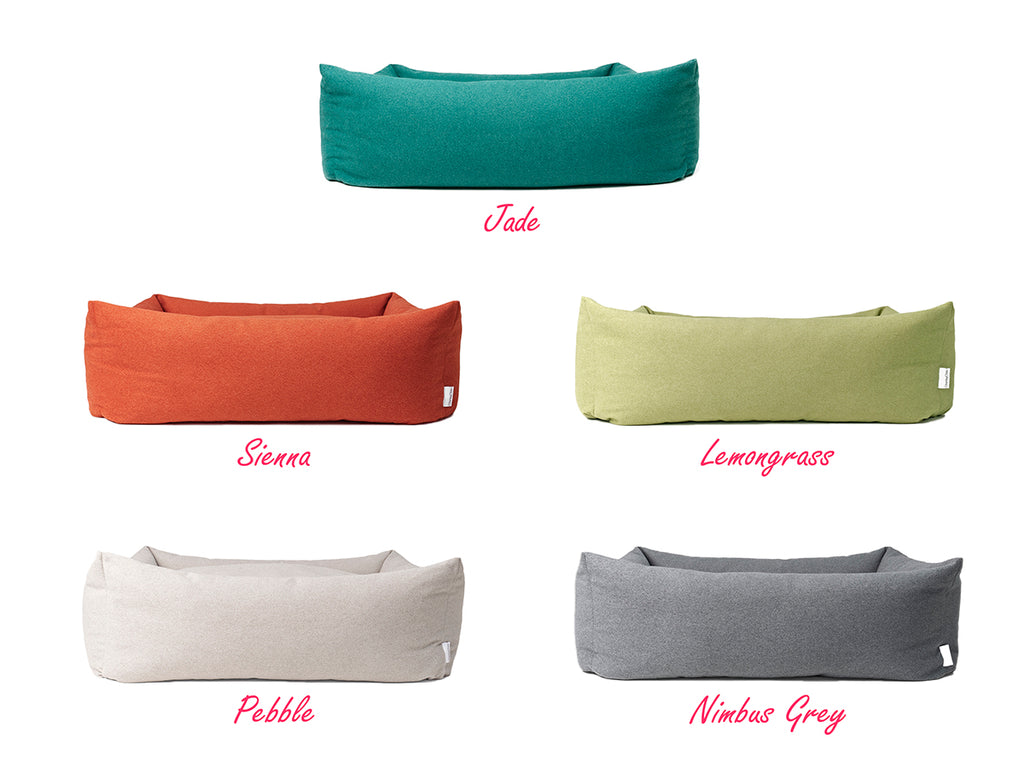 Charley Chau Bliss Bolster Bed colour options