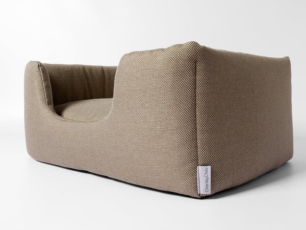 The Deeply Dishy Luxury Dog Bed in Weave by Charley Chau