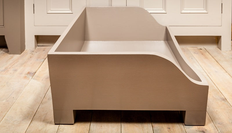Raised Wooden Dog Bed - Charley Chau