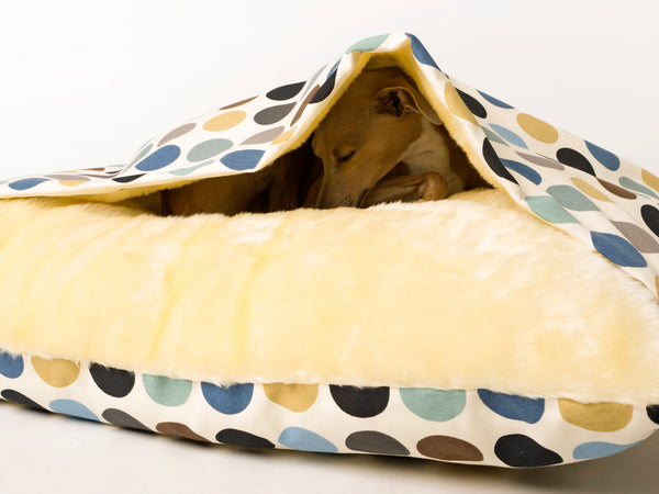 Charley Chau Snuggle Bed Great Spot - Duck Egg