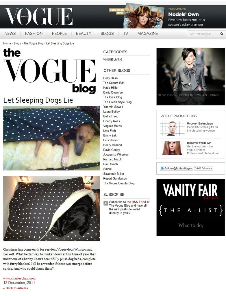 Charley Chau on the Vogue Blog