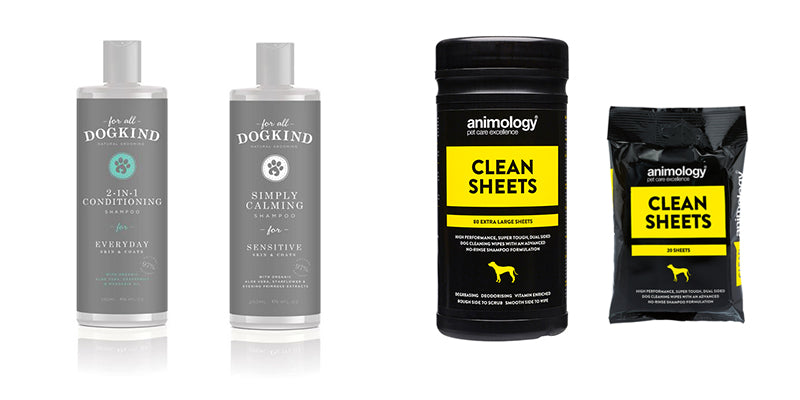 Dog Shampoo and Dog Wipes at Charley Chau