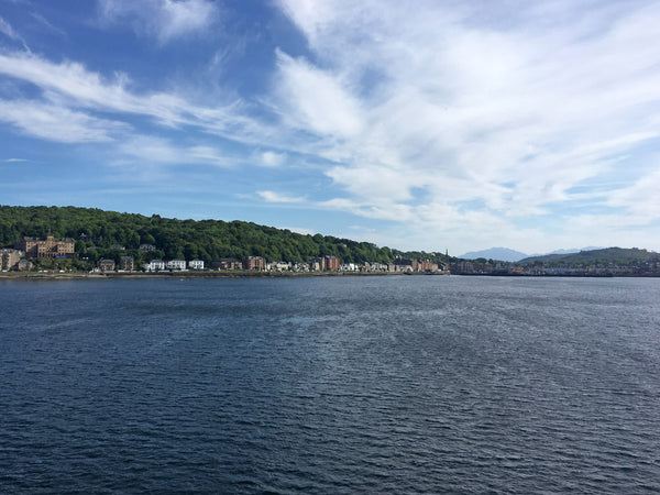Rothesay, Bute from the ferry