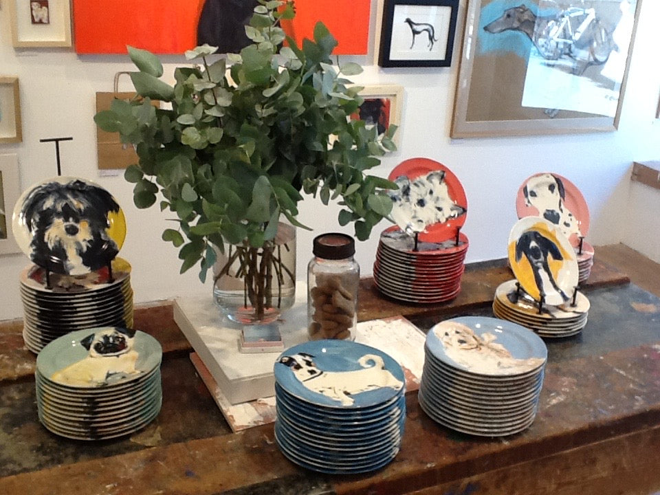Sally Muir's A Dog A Day collection at Anthropologie