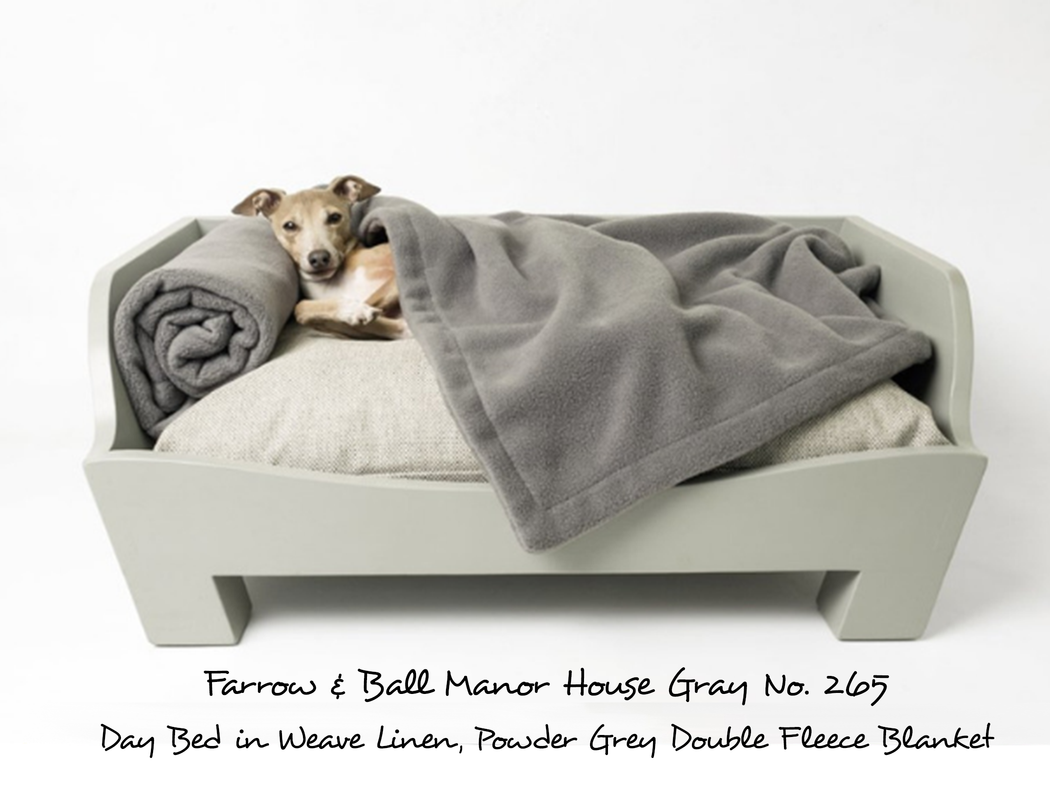 Raised Wooden Dog Bed