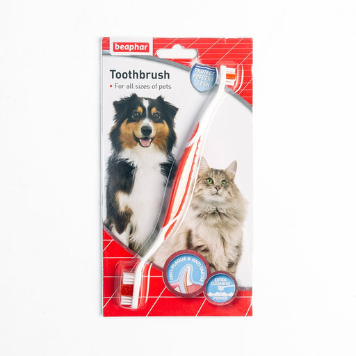 Beaphar Canine Toothbrush - Double Headed