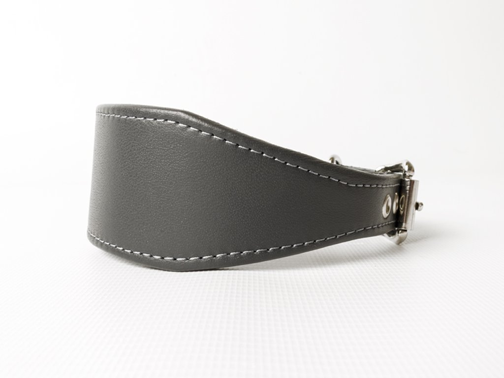 Bespoke Leather Whippet collar