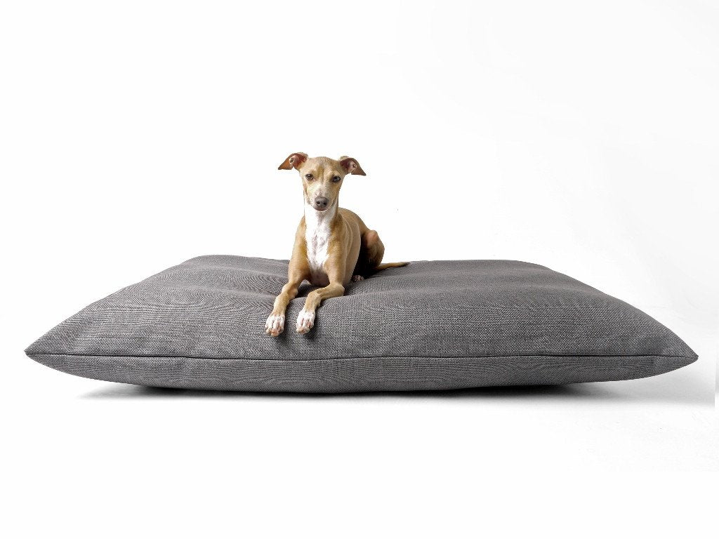 Charley Chau Luxury Dog Bed - Weave Slate