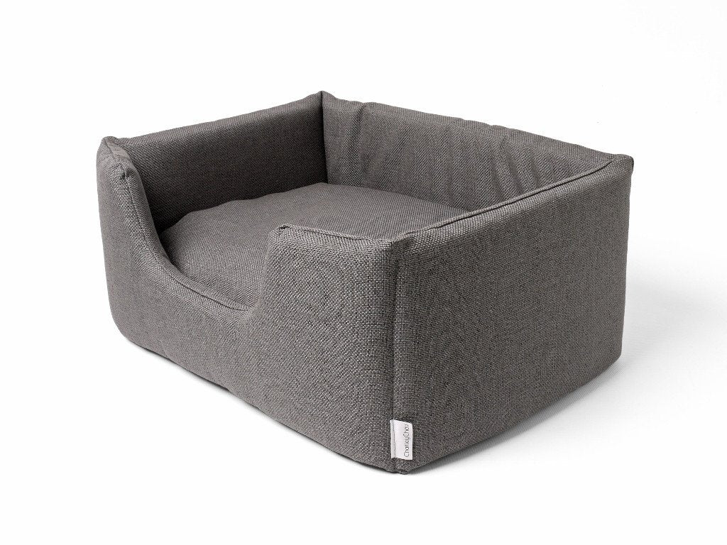 Charley Chau Deeply Dishy Dog Bed in Weave Slate - new for A/W 2014