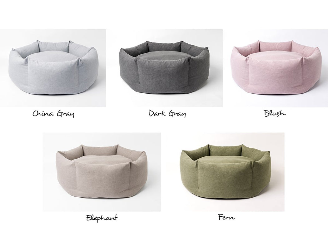 Ducky Donut Dog Bed available in five fabulous colours