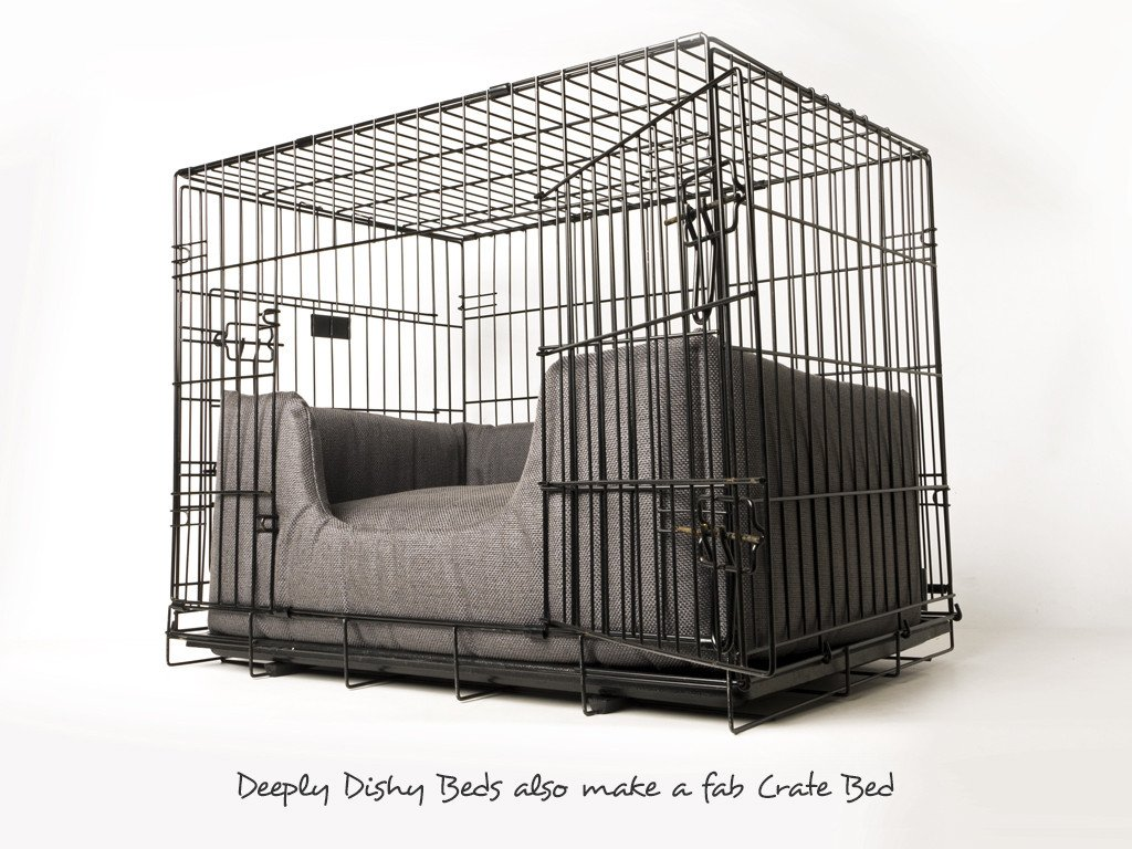 A versatile dog bed that also makes a fab Dog Crate Bed