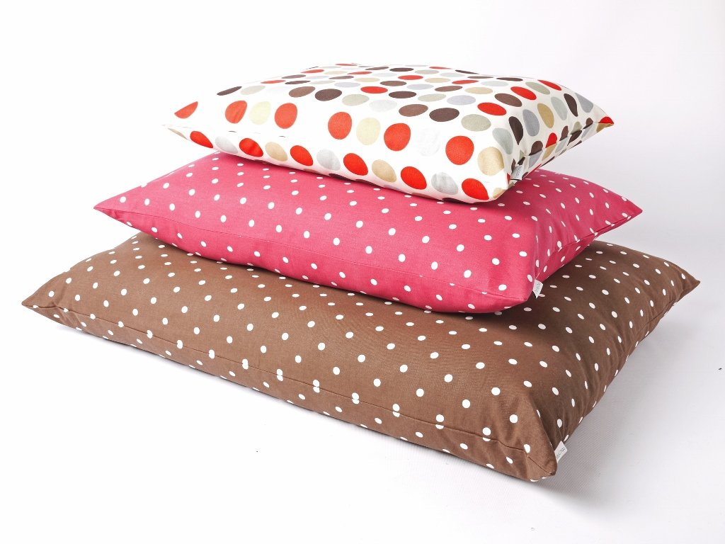 Charley Chau Day Bed Mattresses in cotton prints