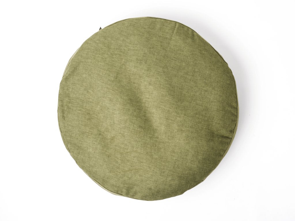 Charley Chau Luxury Round Dog Bed Mattress  - Fern