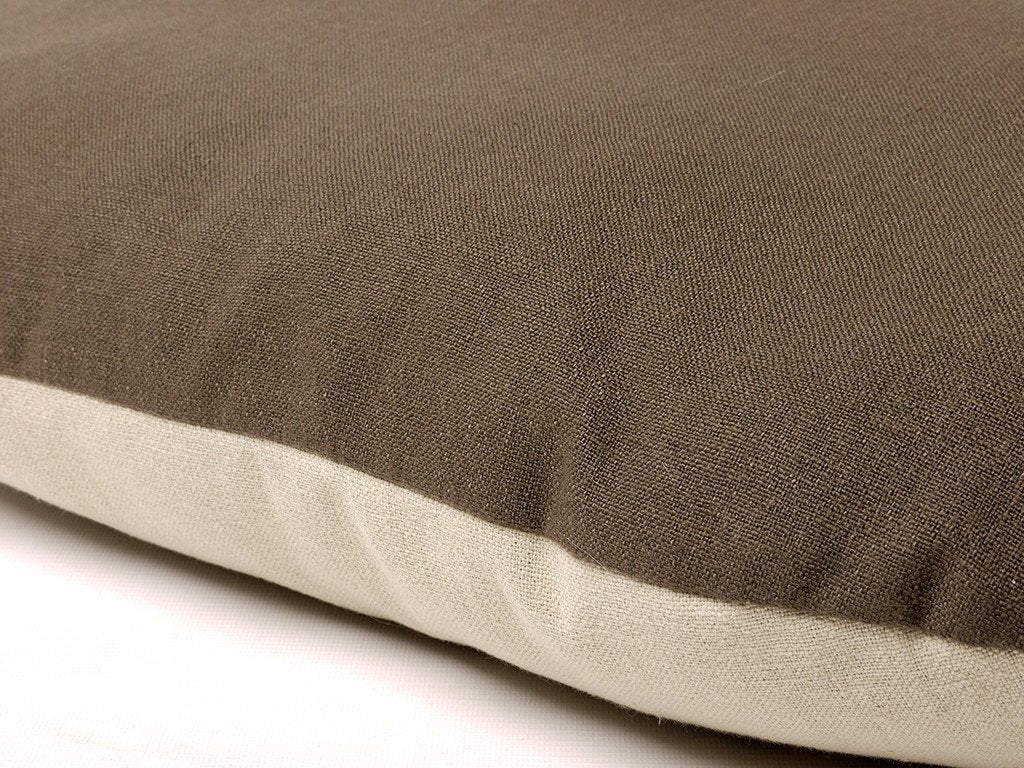 Oval Dog Bed Mattress Cover - two-tone, versatile cover
