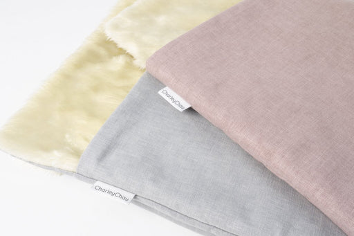 Spare Snuggle Bed Covers in Cosmo China Gray and Cosmo Blush