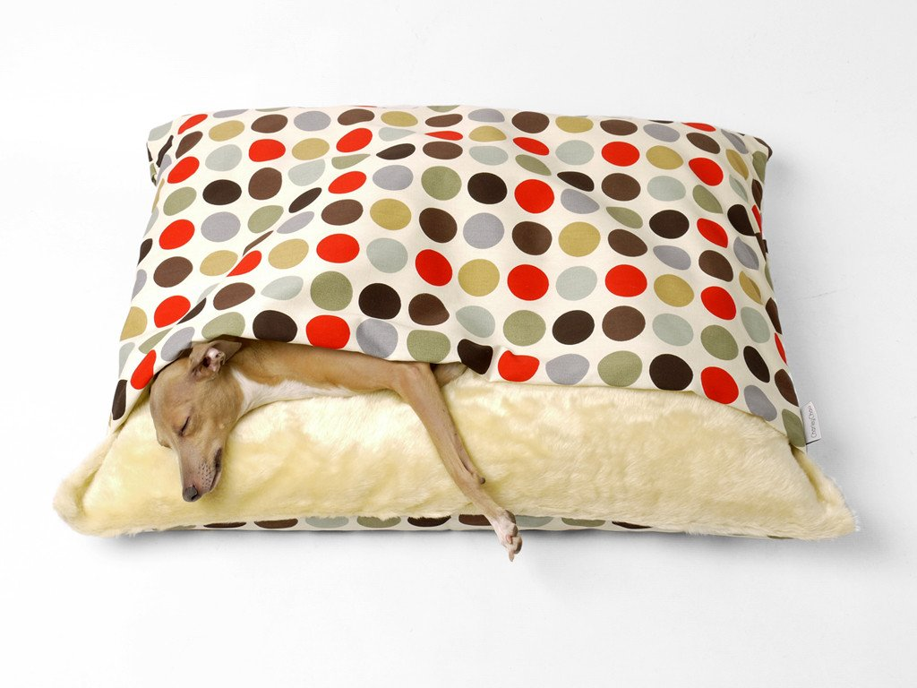 Charley Chau Snuggle Bed perfect for dogs that love to sleep under blankets