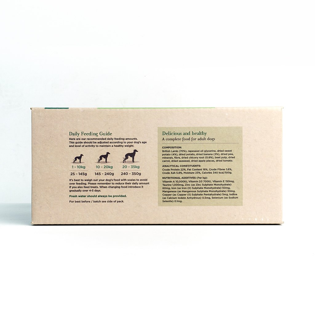 Innocent Hound Air-Dried Complete Dog food - British Lamb Casserole