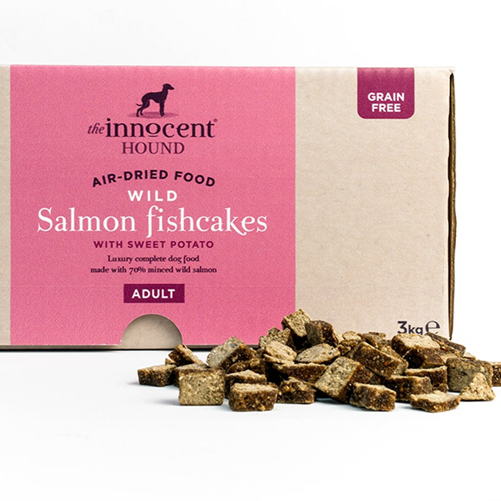 Innocent Hound Air-Dried Complete Dog food - Wild Salmon Fishcakes