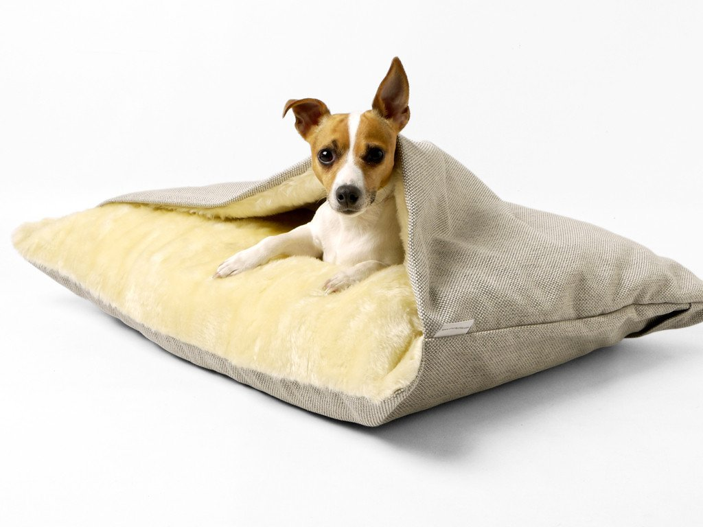 The perfect bed for tunneling terriers!