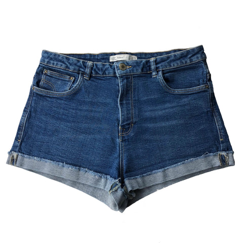 AU8 Preloved Women's Zara High Waist Short